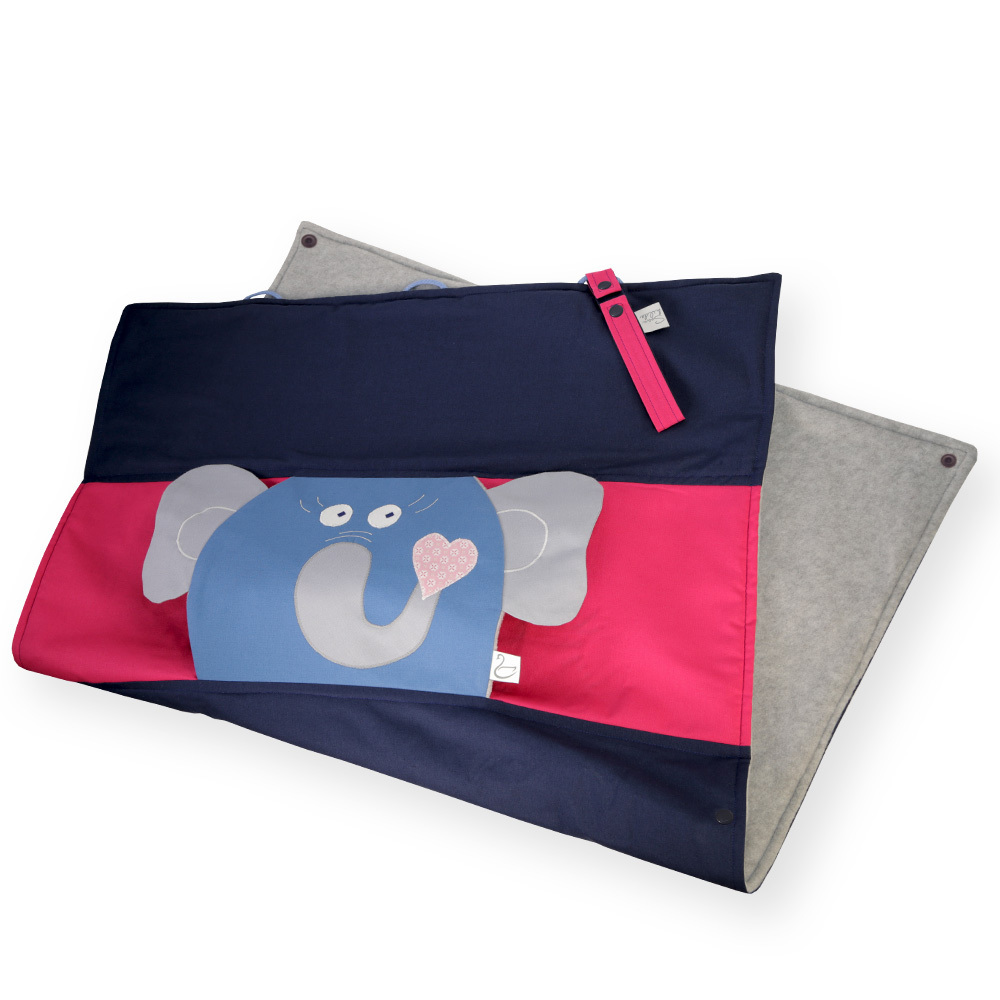KIDS BLANKET ELEPHANT ALMA