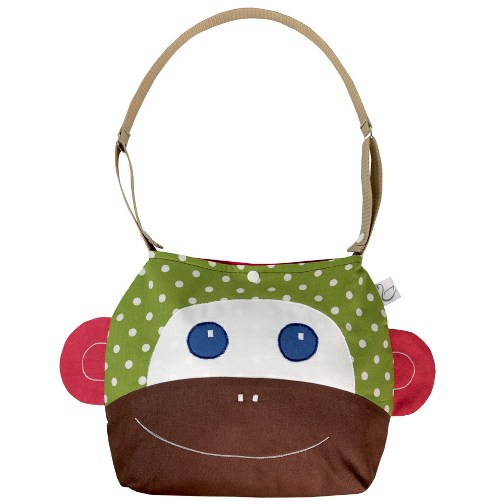 2 IN 1 SHOULDER BAG MONKEY ALVINA