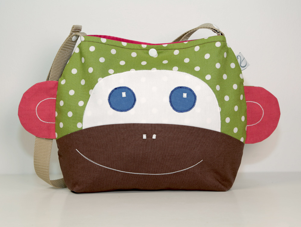 2 in 1 Kindertasche Affe Alvina