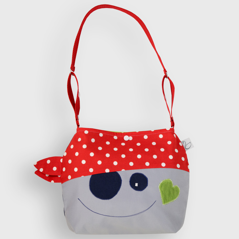 2 IN 1 SHOULDER BAG PIRATE PEPE