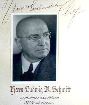 L.A. Schmitt persöhnlich