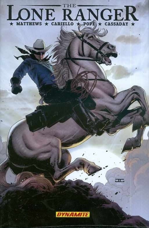 The Lone Ranger, Vol. 2: Lines Not Crossed (HC)