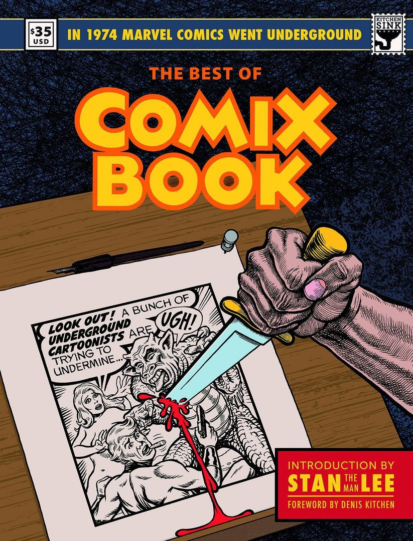 The Best of Comix Book (HC)