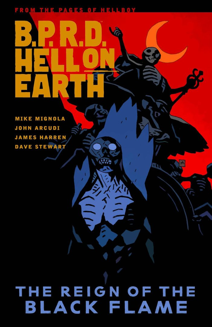 B.P.R.D. Hell on Earth,  Vol. 9: The Reign of the Black Flame (SC)