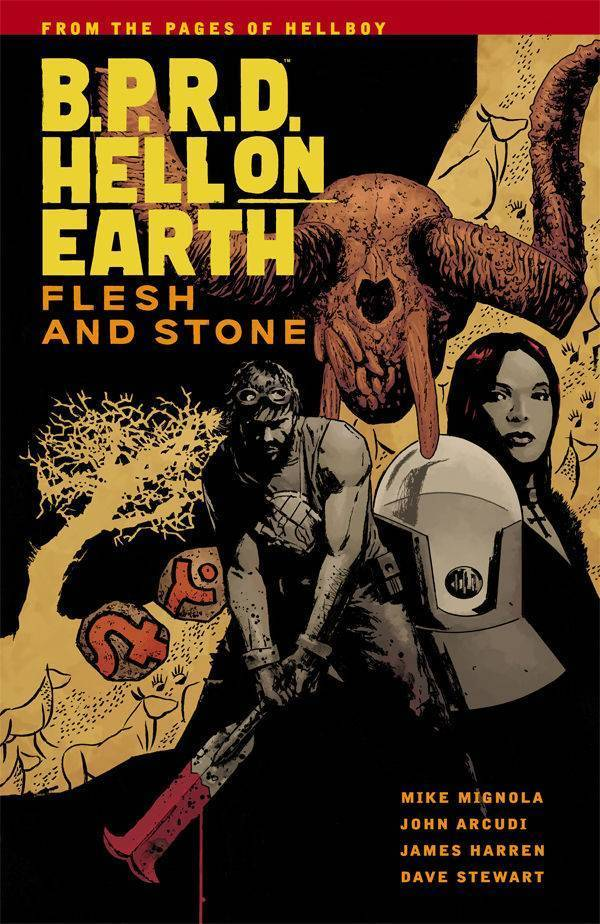 B.P.R.D Hell On Earth, Vol. 11: Flesh and Stone(SC)