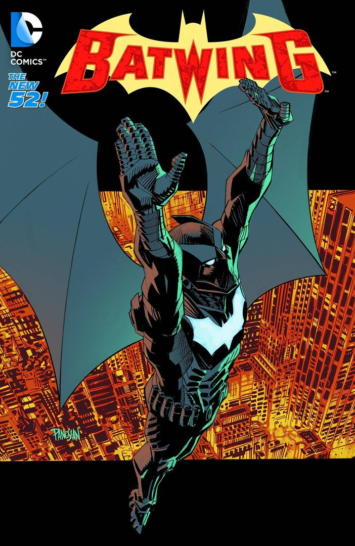 Batwing, Vol. 5: Into the Dark (The New 52) (SC)