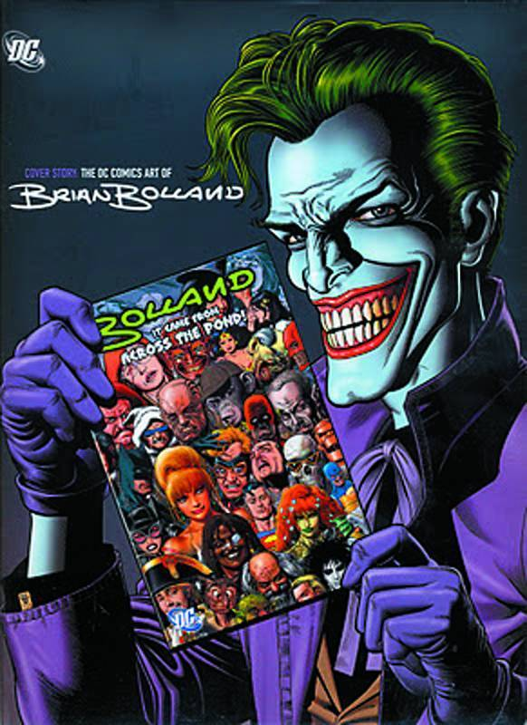 Cover Story: The DC Comics Art of Brian Bolland (HC)