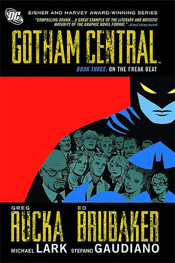 Gotham Central, Book 3: On the Freak Beat (SC)