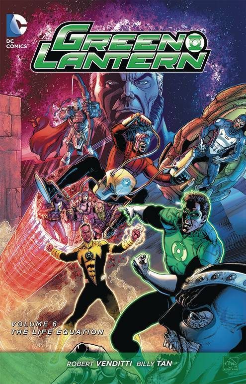 Green Lantern, Vol. 6: The Life Equation (The New 52) (HC)