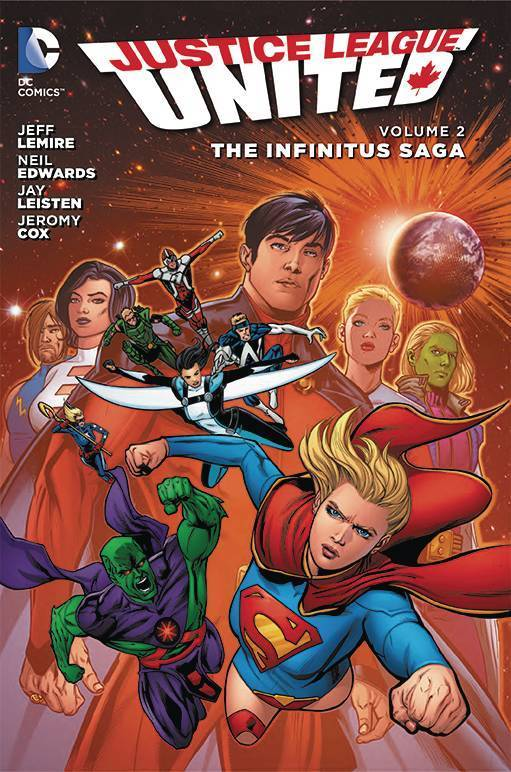 Justice League United, Vol. 2: The Infinitus Saga (The New 52) (HC)