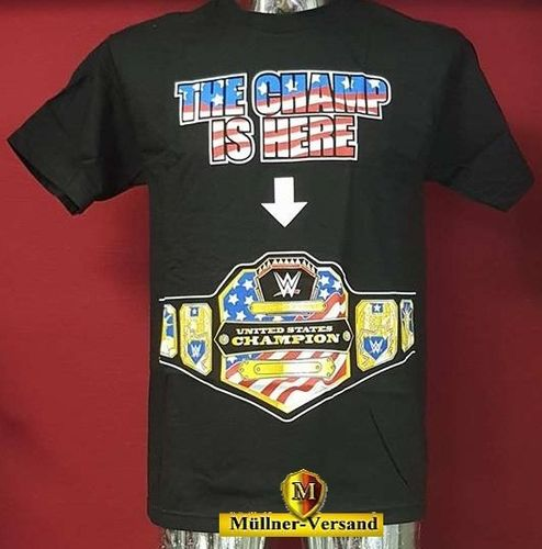 John Cena The United States Champ is Here Authentic T-Shirt