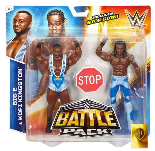 WWE Big E & Kofi Kingston Battle Pack Serie 36
