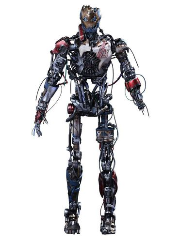 Avengers Age of Ultron Movie Masterpiece Actionfigur 16 Ultron Mark I 33 cm