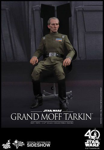 Star Wars Episode IV Movie Masterpiece Actionfigur 1/6 Großmoff Tarkin 30 cm