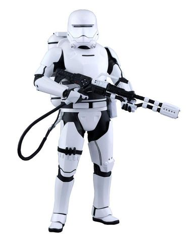 Star Wars Episode VII Movie Masterpiece Actionfigur 1/6 First Order Flametrooper 30 cm