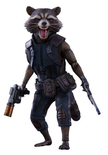 Guardians of the Galaxy Vol. 2 Movie Masterpiece Actionfigur 1/6 Rocket Raccoon 16 cm