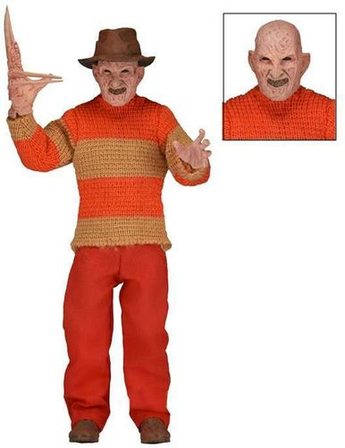 Nightmare On Elm Street Retro Actionfigur Freddy Classic Video Game Appearance 20 cm