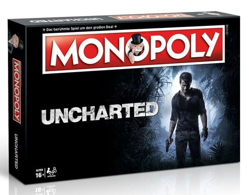 Uncharted Brettspiel Monopoly