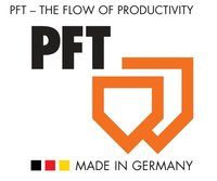 Product programme PFT building machinery