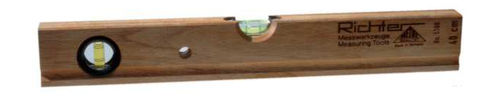 Wooden spirit level professional