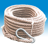 Hemp rope Ø 20 mm - 30 m cpl. with SIKA hook