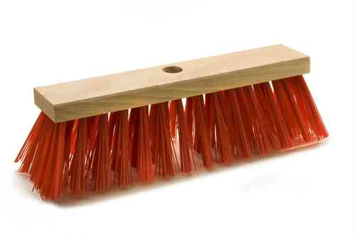 Road broom red PVC Elaston 1,2 mm