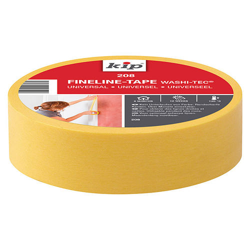 KIP 208 FineLine-tape WASHI-TEC® Premium Plus