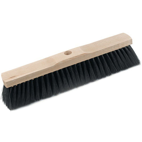 Horsehair broom