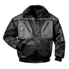 NORWAY two-coloured pilot-jacket ASKIM black-grey