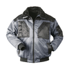 NORWAY two-coloured pilot-jacket TROMSOE grey-black