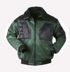 NORWAY two-coloured pilot-jacket ARENDAL green-black