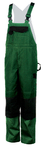 elysee®  Canvas dungarees HOBART green/black