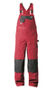 elysee®  Canvas dungarees BALLARAT red/black