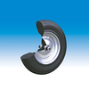 Polymer wheel, 400 x 100 mm    for FAGRO
