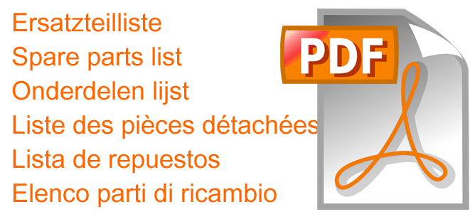 Download PFT ET-Liste / Spare parts list