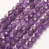 "Strangware - Polyeder, facettiert 5 - 6mm - Amethyst ""Transparent"""
