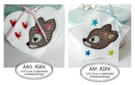 Mrs & Mr Kitz  SET Stickdatei LED 10x10 ITH