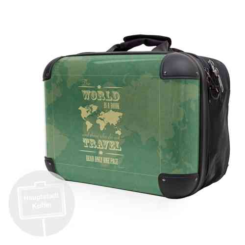 Hauptstadtkoffer Serie Style - Tasche World is a Book