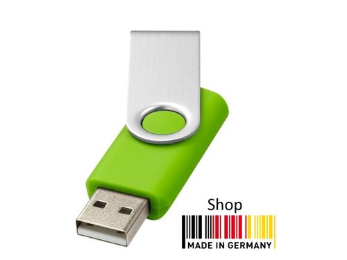 2GB USB Flash Drive Swivel Grün