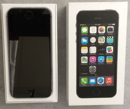 Apple iPhone 5S, 16 GB, spacegrau - refurbished