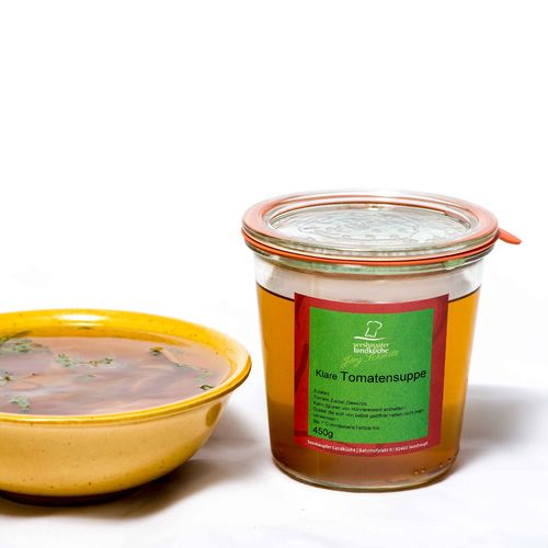 Klare Tomatensuppe 450g