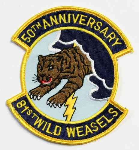 81th Wild Weasels 50th anniversary