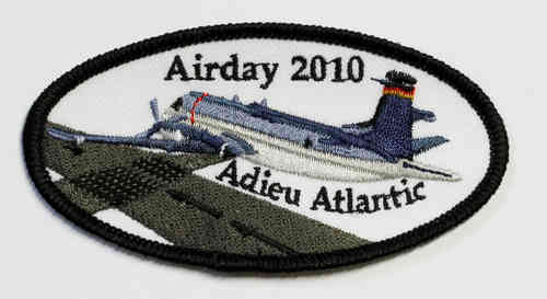 Abschieds-Patch Byebye Atlantic / Airday 2010