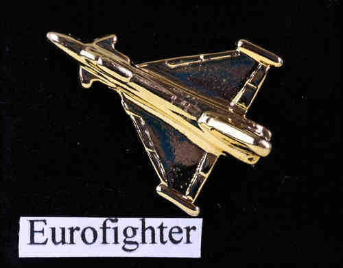 Eurofighter vergoldet