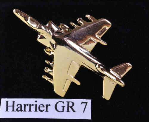 Harrier GR.7, vergoldet