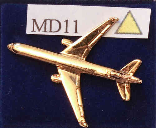 MD 11, vergoldet