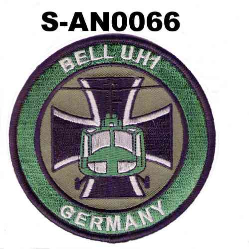 Bell UH1 Germany mit Balkenkreuz