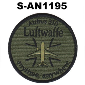 Luftwaffe, Airbus A310, anytime, anywhere, grüntarn