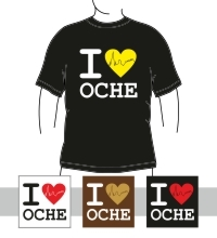 I love Oche T-Shirt Damen