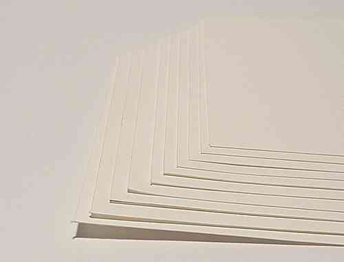"30 SHEETS CANSON ""ARCHES PLATINE"" ALTERNATIVE PRINTING PAPER 12 X 15 CM"